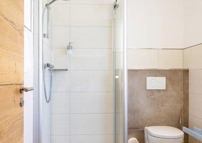 Komfortdoppelzimmer Badezimmer