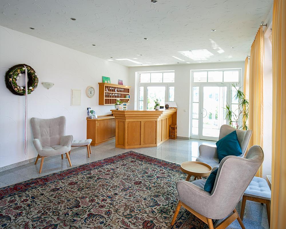 Hotel Zum Steverstrand Rezeption