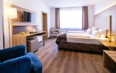 Hotelzimmer erstrahlen im neuen Glanz