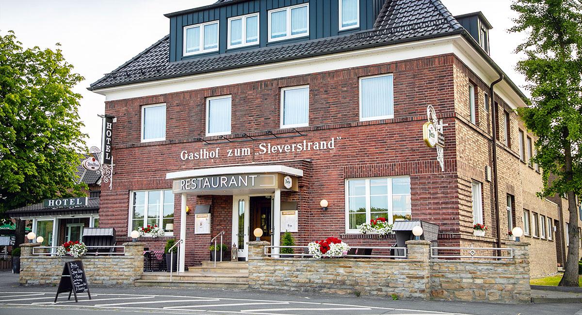 Gasthof Zum Steverstrand Außenansicht