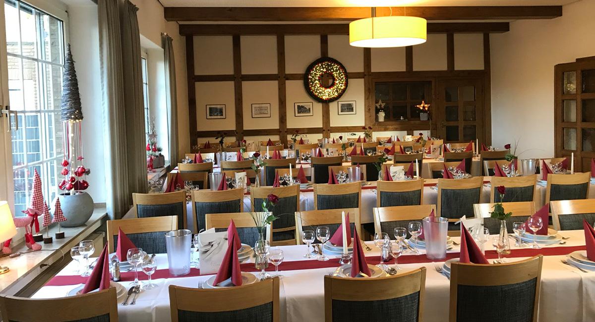 Hotel Zum Steverstrand - Unser Restaurant